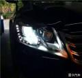 【邢台永诚专业改灯】大众迈腾升级贝雷帽海拉5透镜,氙气灯安定