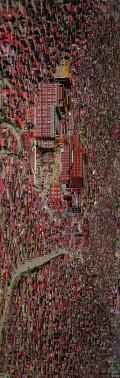 补两张(红翼川西十五日自驾游)中没发的色达全景照片。