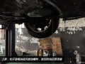 同事的2014骐达1.6CVT,拆油底壳换波箱油作业..