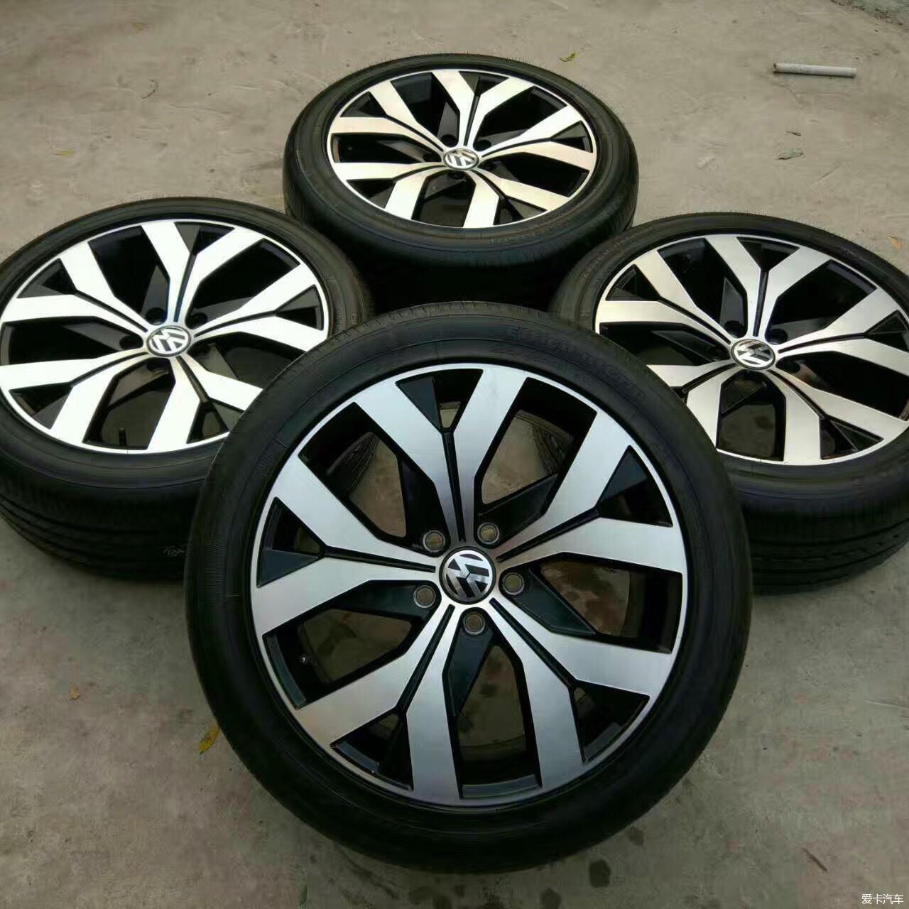 【图】16款迈腾18寸新款轮毂轮胎_1_回收站_爱卡汽车