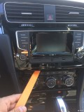 VW高尔夫R-Line手动更换6.5MIB多图、慎入!