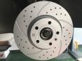 夏朗更换镀铬后视镜壳改装原厂打孔划线刹车盘瞬间成为运动款
