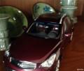 自己拥有的英菲QX50车模