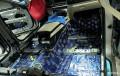 温州宝马740汽车音响改装丹拿三分频套装+卓傲功放音响系统