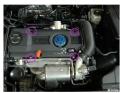 迈腾B6EA111发动机1.4T自己DIY换火花塞作业