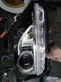 西安起亚K4改灯,近光海拉透镜雾灯Q5透镜,西安天籁车灯出品