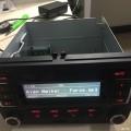 Polo车机改家用收音机,求助关于喇叭的问题!