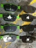 DS5更换前刹车片打磨前刹车盘作业。