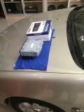 南宁日产蓝鸟安装阿尔派CD+挂镜行车记录仪-途悦汽车音响改装