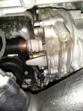 锐界四豪分动器(半轴)油封渗油问题。