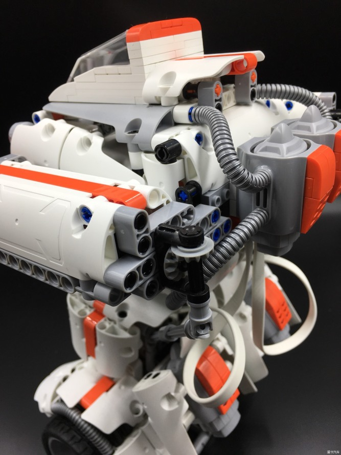 拼装积木机器人图纸图片分享