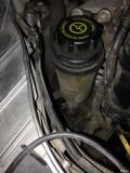 转向助力油低于最低,方向机位置漏油(持续更新,待解决)