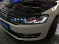 Volkswagen大众帕萨特专业改灯、低配升级高配氙气大灯