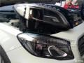 奔驰GLA车灯升级高配氙气大灯增亮小系双光透镜成都专业改灯