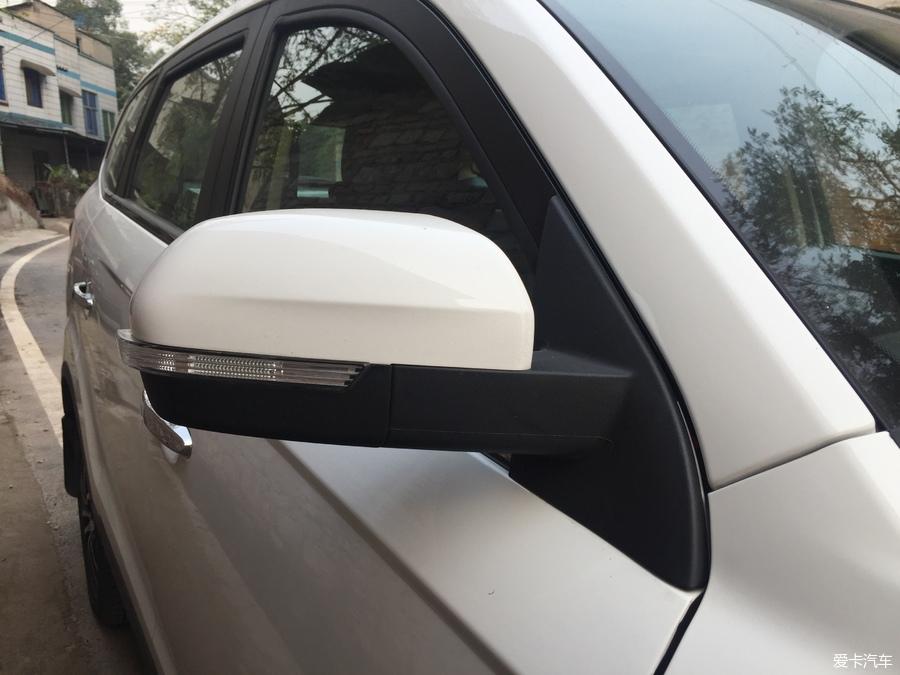 白色自动顶配提车,处处是细节 迈威论坛论坛