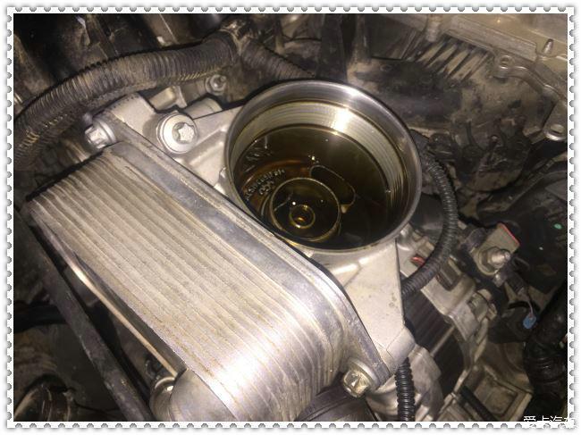 汽车保养提示卡_宝马320机油散热器漏油啦-爱卡汽车网论坛