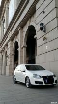 德国制造五代高尔夫GTI白色五门版(北京)