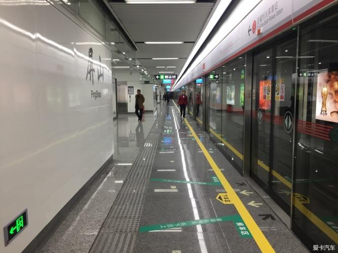 于等到你 初乘福州地铁1号线