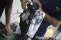 广州舶卡改灯,现代ix25改装定制海拉5透镜、欧司朗安定灯泡
