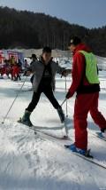 滑雪初体验