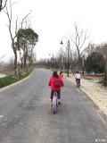 爸爸去哪儿------带着贝贝东湖绿道骑行(下)