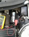 4.5年乐驰更换瓦尔塔蓄电池