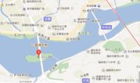 """冬日暖阳下的福州""""爱情岛""""江心公园"""