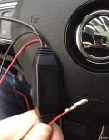 全新速派行车记录仪走暗线,保险盒取电