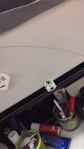 03年老八没扶手箱纽福克斯车载冰箱改做扶手箱!