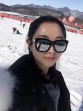 雪山上的美人儿