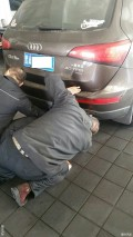Q5更换排气管支座