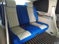 郑州别克GL8商务车内饰改装/电动沙发床演绎不一样的风采