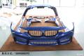 埃斯托蓝宝马3系改M3包围BMW3系逆袭改装大包围排气