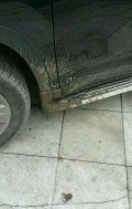 汉兰达改装挡泥板