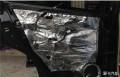 清远道声汽车音响改装本田CR-V全车改装升级StP隔音必备