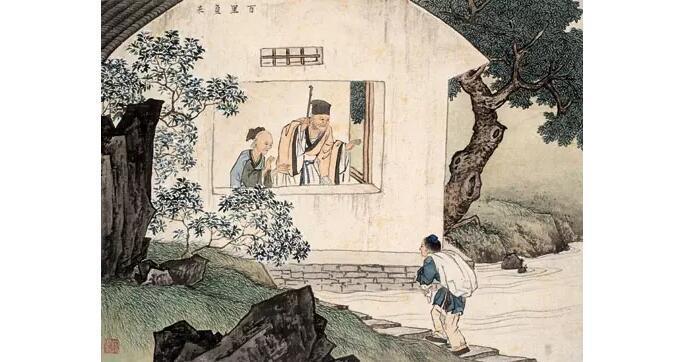 国画大师陈少梅《二十四孝图》欣赏_恋爱物语