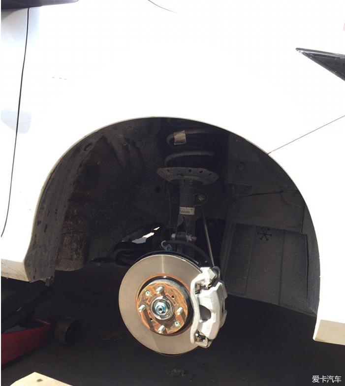 铁标志太难看了一气之下我给换了…_东风本田长安欧尚a800故障轮毂图片