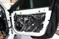 乘风破浪|奥迪A4L汽车音响改装零点和史泰格功放|重庆渝大昌