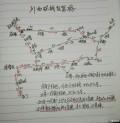 暑假的川西环线自驾游,修改后路线图征求意见。谢谢!