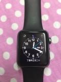 Applewatch苹果手表一代,38黑色运动版。国行