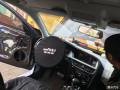 奥迪A4L音响改装丹拿272+英雅仕音响-深圳赛电汽车音响