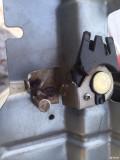 老宝来B5后备箱电机锁块板加强版