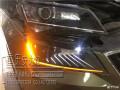 重庆斯柯达速派大灯总成升级重庆安达迩专业汽车灯光改装速派改灯