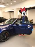AMG C63S coupe 宝石蓝提车作业