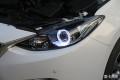 【广州炫澜车灯】马自达3升级精刚海拉5双光透镜+精刚安定器