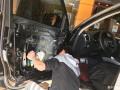 奥迪Q5汽车音响改装升级丹拿232音响-深圳赛电汽车音响