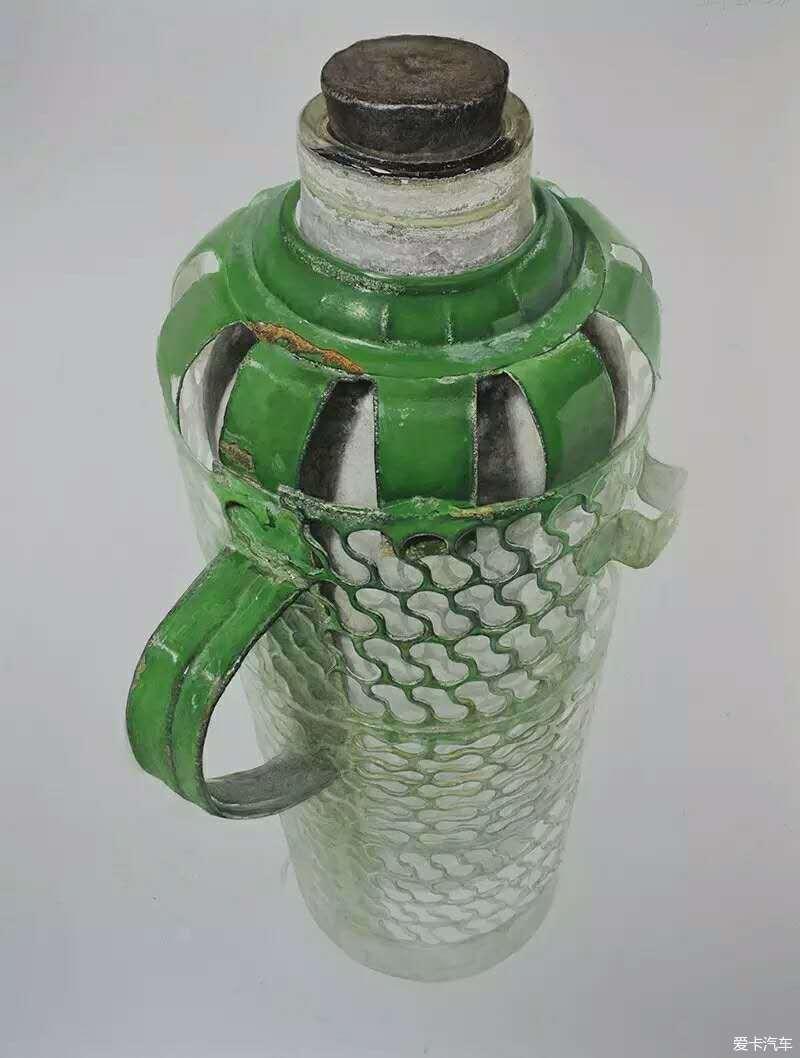 素描暖水瓶的画法步骤