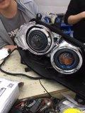 汽车改灯动力升级宝马改装GTRLED双光透镜