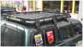 不需横杆大载重丰田LC80酷黑行李框越野专用可定制车顶框