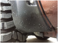 丰田坦途轮眉改装款轮眉坦途改装带柳钉轮眉宽轮眉